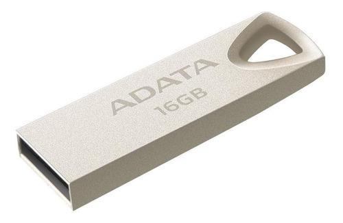 Imagen 1 de 1 de Memoria USB Adata UV210 16GB 2.0 plateado