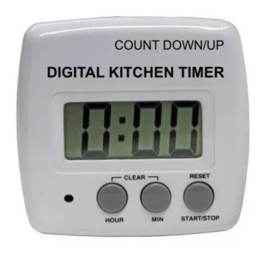 Timer Digital Cocina Coccion Temporizador Numero Grandes