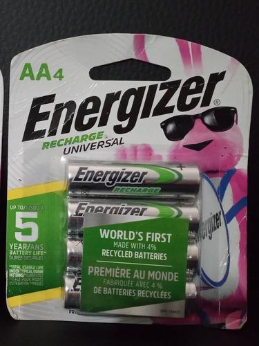 Energizer Baterías Recargable Aa