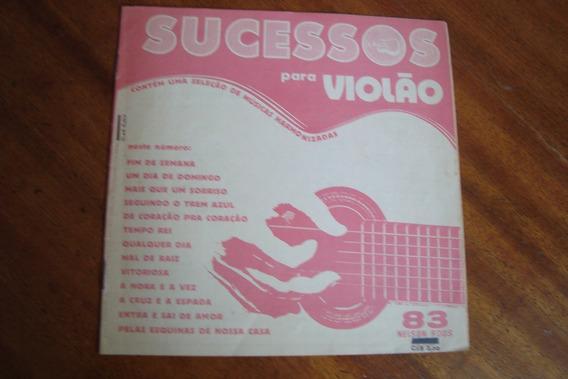 Revista Nelson Roos 83 / Album De Sucessos Para Violao