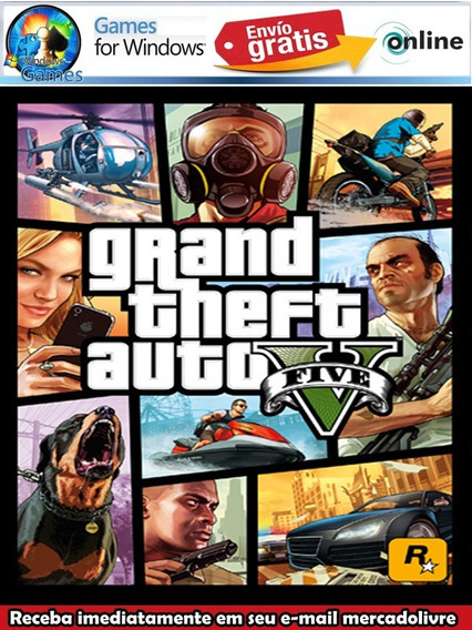 Gta V Pc Offiline Completo Br