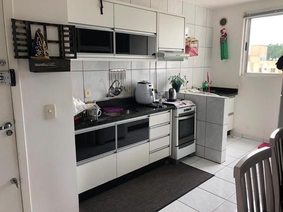 Apartamento Em Forquilhinha, São José/sc De 53m² 1 Quartos À Venda Por R$ 130.000,00 - Ap185397