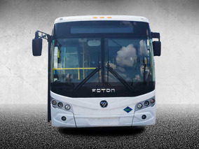 Autobus Foton De 9.3 Metros A Gas Natural
