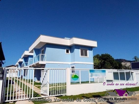 Linda Casa Duplex Em Inoa No Centro Comercial ! - 175