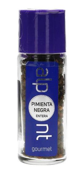 Pimienta Negra Entera Especias Alpont Gourmet 57 Gramos