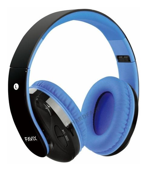 Fone Ouvido Favix B17 Sem Fio Fm Cartão Headset 1. Linha