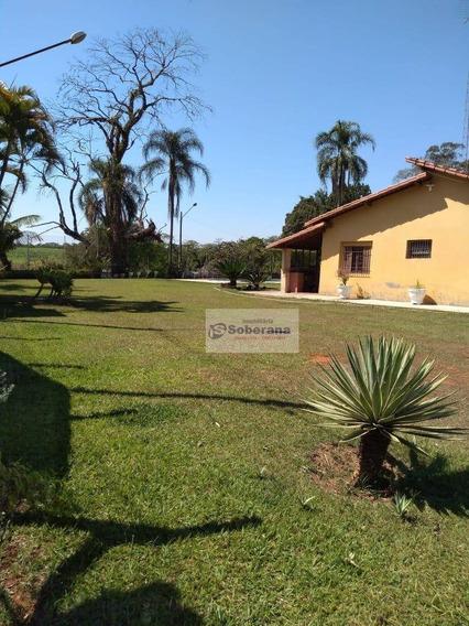 Chácara Com 3 Dormitórios À Venda, 2500 M² Por R$ 450.000,00 - Tanque Furado - Cosmópolis/sp - Ch0066