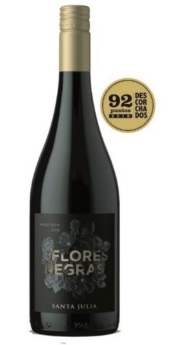 Imagen 1 de 5 de Flores Negras - Santa Julia - 100% Pinot Noir