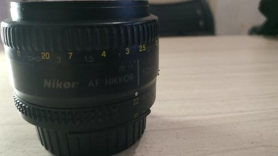 Lente Nikon Af 50mm 1.8