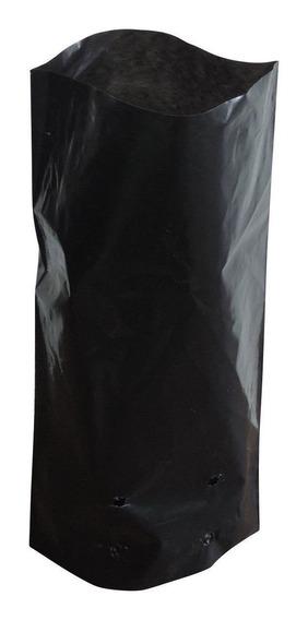 Saco Plástico Para Mudas 15 X 28 X 08 Preto 500 Unidades