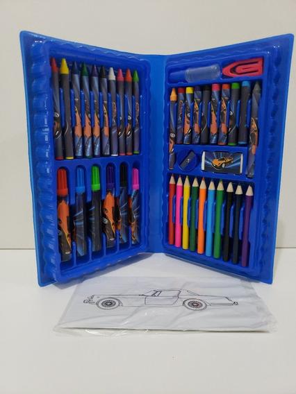 Estojo Para Colorir Maleta Material Escolar Estojo Pintura