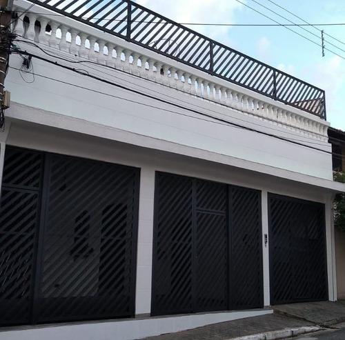 Sobrado Com 3 Dormitórios, 268 M² - Venda Por R$ 850.000,00 Ou Aluguel Por R$ 3.350,00/mês - Vila Prudente (zona Leste) - São Paulo/sp - So1095