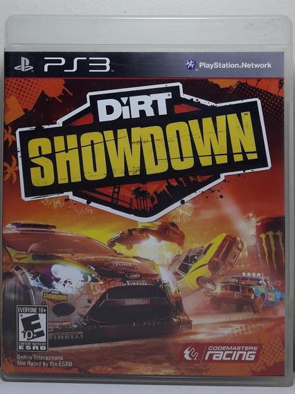 Jogo De Ps3 Dirt Showdown Em Mídia Física