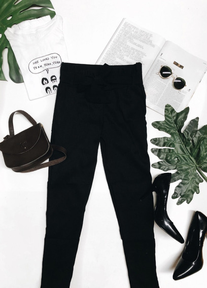 Pantalón Waisted Moda Casual Bonito
