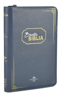Biblia Cristiana Reina Valera 1960 Letra Grande - Gris