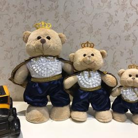 3 Ursos Príncipes Encantados Em Pé G, M, P