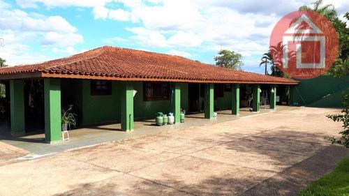 Chácara Com 4 Dormitórios À Venda, 9800 M² Por R$ 1.300.000,00 - Curitibanos - Bragança Paulista/sp - Ch0218