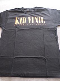 d69586a646 Camiseta Kid Vinil Um Herói Do Brasil Rock Nacional Anos 80