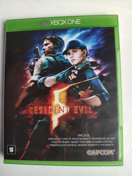 Resident Evil 5 Xbox One Midia Física Semi Novo
