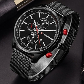 Reloj Marca Curren Metalico Malla Moda Hombre Caballero Lujo