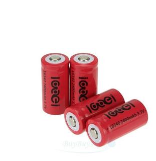 Pilas Baterias Cr123a Recargables 2400mah 3.7v 16340