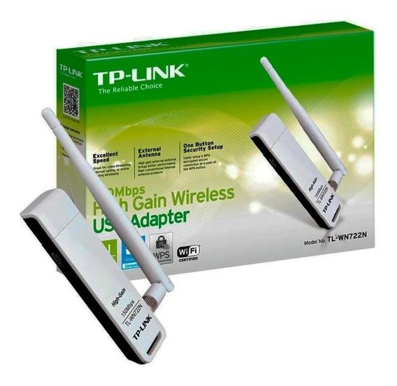 Adaptador Wireless Usb Tp-link Wn-722 150mpbs Ver 2.0