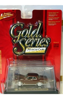 1:64 Jl R9 Gold Series Muscle Cars 1962 Plymouth Sport Fury