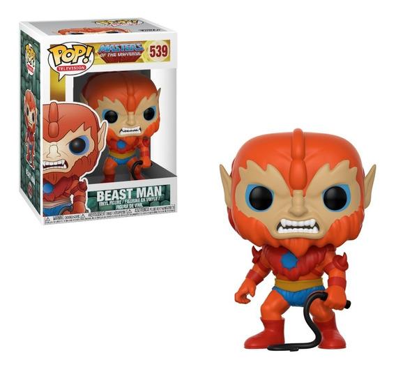He-man E Os Mestres Do Universo Boneco Pop Funko Homem Fera