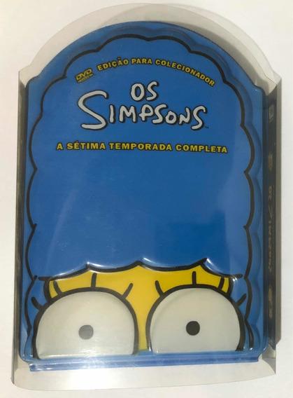 Box 4 Dvds Os Simpsons 7a Sétima Temporada Cabeça Novo