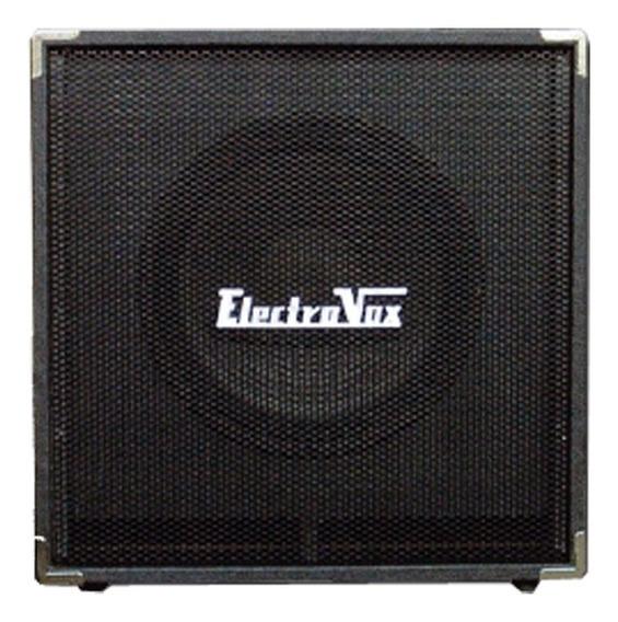 Caja P/ Amplificador De Bajo Electrovox B115 250 Watts