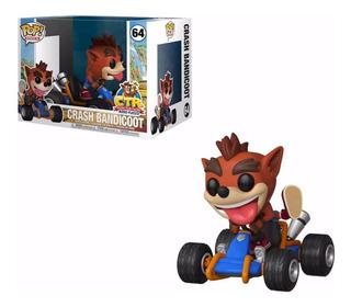 Crash Bandicoot In Car Ride Funko Pop