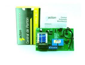 Central Placa Portão Eletrônico Acton C-4 Fit-pa