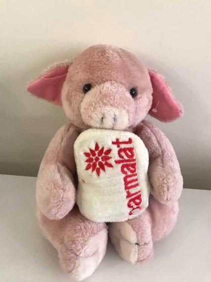 Pelúcia Parmalat Porco Rosa