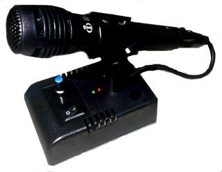 Mic De Ganho-microfone De Mesa Mc-1x Para Px-py-hf-vhf
