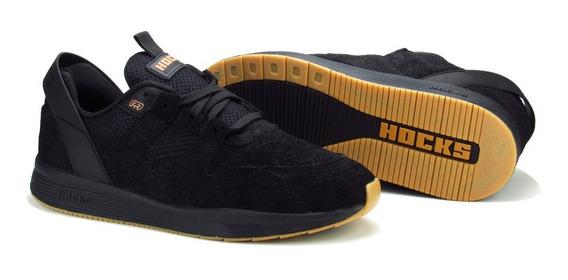 Tênis Hocks Pro Model Solo Black Preto Marcelo Formiga