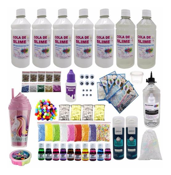 Kit Completo Grande Fazer Slime + Lançamento + Frete Free