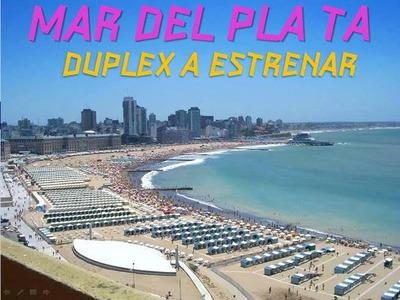 Alquilo Duplex/depto 3amb, Mar Del Plata, Una Cuadra Del Mar
