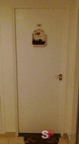 Imagem 1 de 15 de Apartamento Para Venda Por R$260.000,00 - Vila Homero Thon, Santo André / Sp - Bdi17018