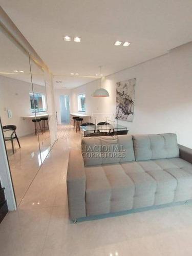 Sobrado Com 2 Dormitórios À Venda, 109 M² Por R$ 475.000,00 - Vila Alzira - Santo André/sp - So0599