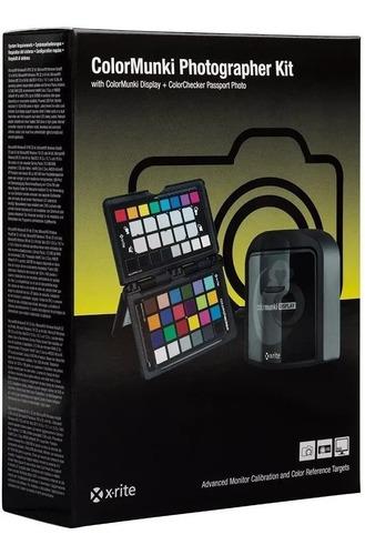 Imagem 1 de 3 de Kit Colormunki Photographor X-rite Lacrado