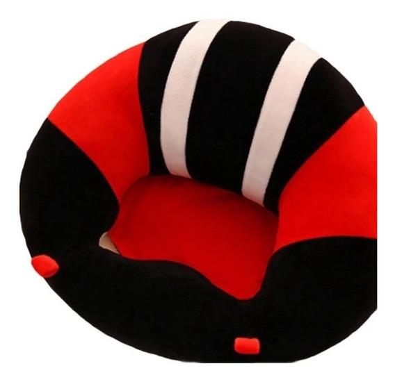 Sofa Bebe Soporte Puff Cojin Silla Sillon Apoyo Aprender Sentado Seguro Bebes 6-8 Meses Seguridad