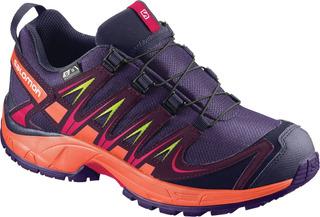 Zapatillas Salomon - Xa Pro 3d Cs Wp - Trail Running - Niños