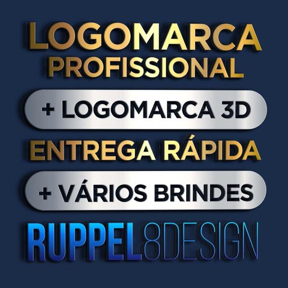 Logo Logomarca Logotipo Arte Profissional Criação Designer