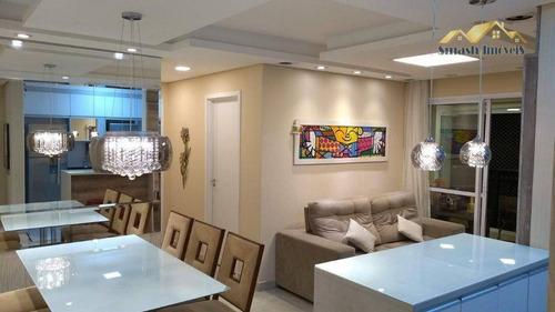 Imagem 1 de 22 de Apartamento Com 2 Dormitórios À Venda, 68 M² - Jardim Terezópolis - Guarulhos/sp - Ap0136