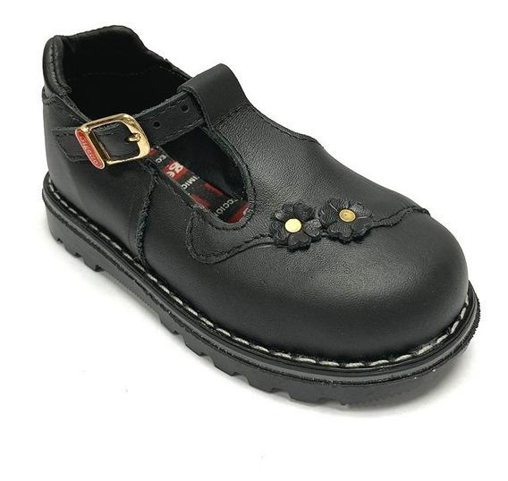 Zapatos Escolares Gigetto Niña Negro Gi 2012 Corpez 42