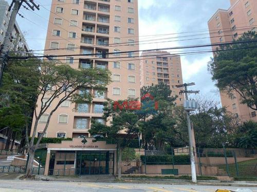 Imagem 1 de 30 de Apartamento 68 M², Villágio Di Lucca, 3 Dormitórios, A Vaga, Vila Butantã, São Paulo. - Ap1036