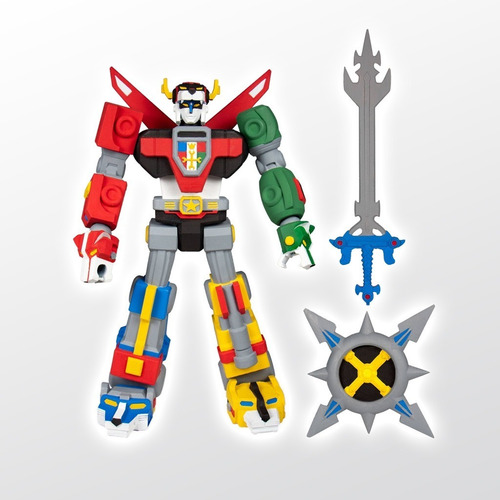 Voltron Defender Of The Universe Deluxe Voltron Super 7