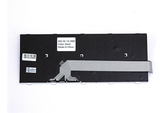 Teclado Notebook - Dell Inspiron 14 5000 Frame - Preto Br