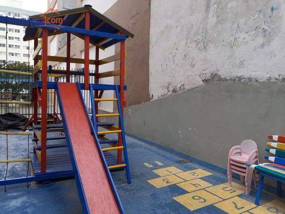 Playground. Apartamento 2 Dormitórios. 75 M² R$ 950/mês - Jardim São Dimas - São José Dos Campos/sp - Ap9612