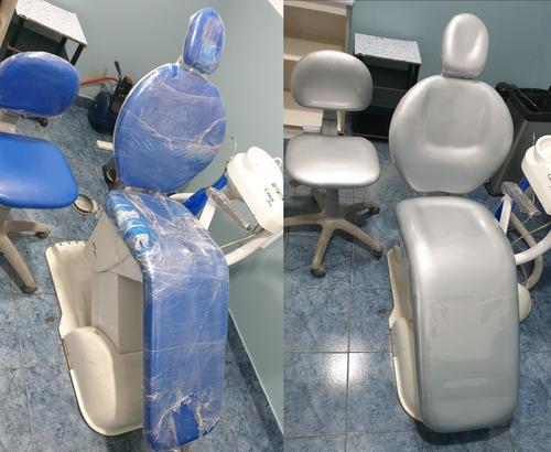 Imagen 1 de 9 de Retapizado De Equipo Odontologico, Tela Importada Termflex